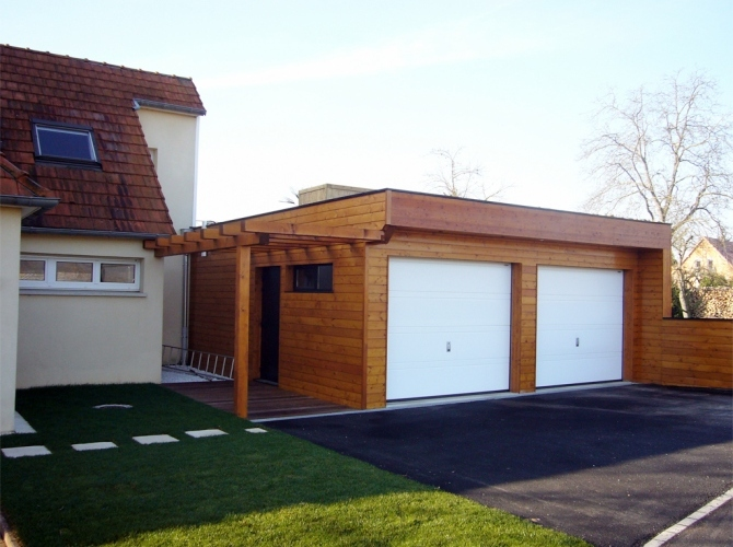 Extension 3 natura concept architecte en alsace for Recours architecte extension garage